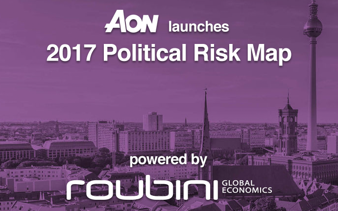 Aon 2017 Political Risk Map