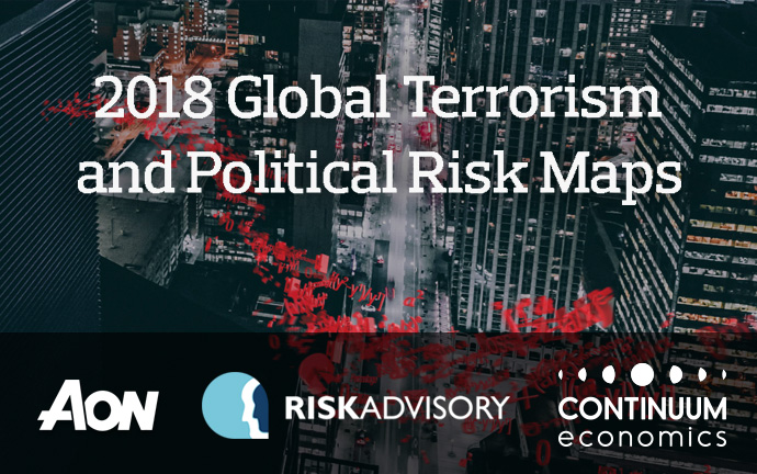 Aon's 2018 Global Terrorism and Political Risk Maps